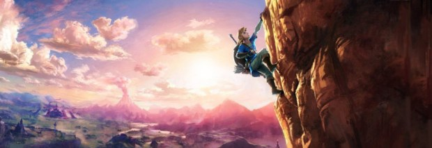 breath of the wild climbing