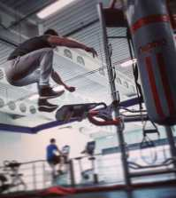Jump height Nightwing training