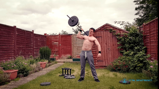 One arm press oblique strength