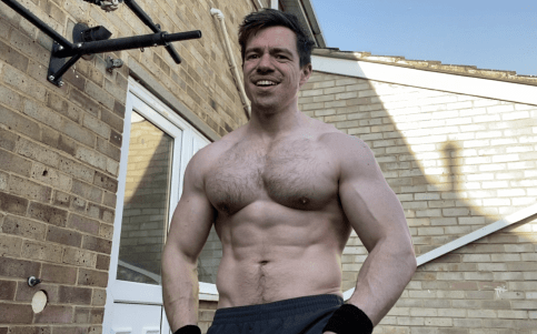 Bodyweight training muscle