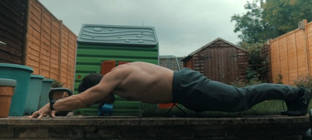 Lalanne Push Ups for Flat Abs