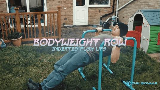 Bodyweight row