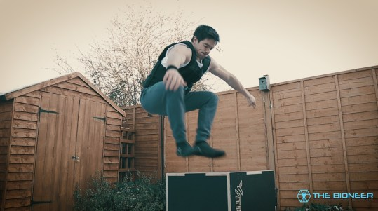 Countermovement jump weighted