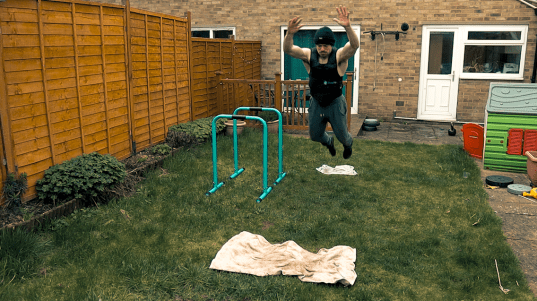 Broad Jump for Parkour Workout