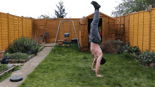 Handstand kickup tips