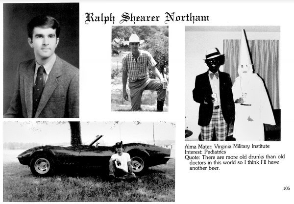 What should be done about Ralph Northam's yearbook photo?