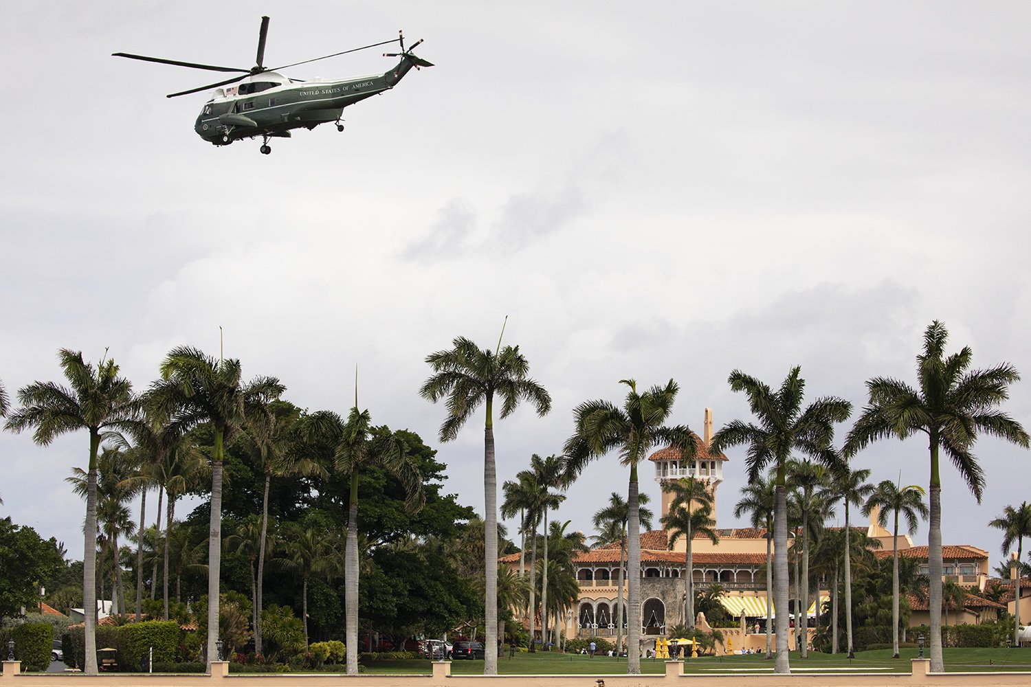 Trump Surprisingly Unconcerned About Mar-a-Lago Breach