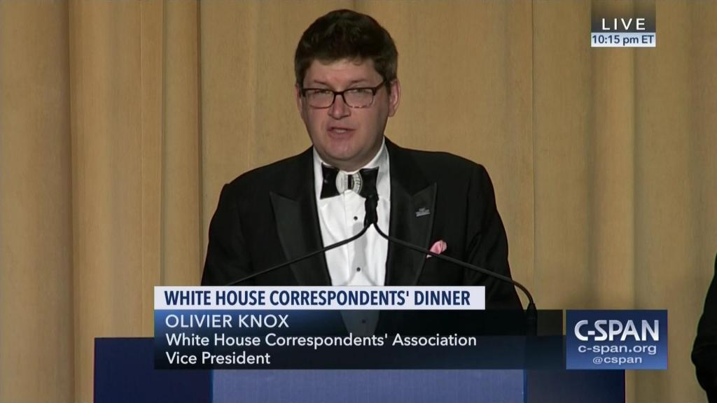 In Lieu of Comedy, Correspondents Dinner Opens with Dark Sermon on Trump Endangering Journalists