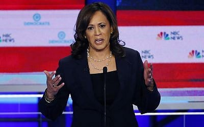 Despite Success, Harris Could Face Backlash for Her Biden Attack