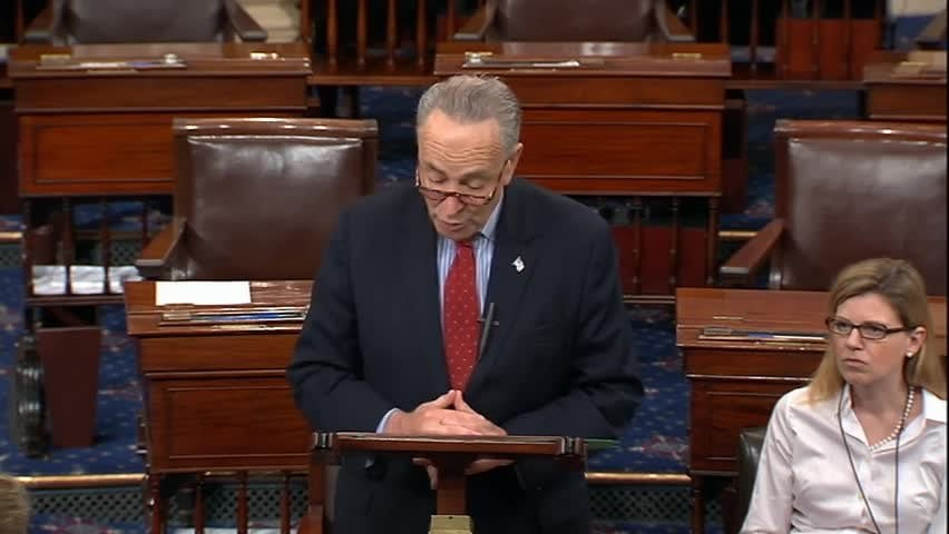 Schumer on Epstein: 'I Am Calling on Secretary Acosta to Resign'