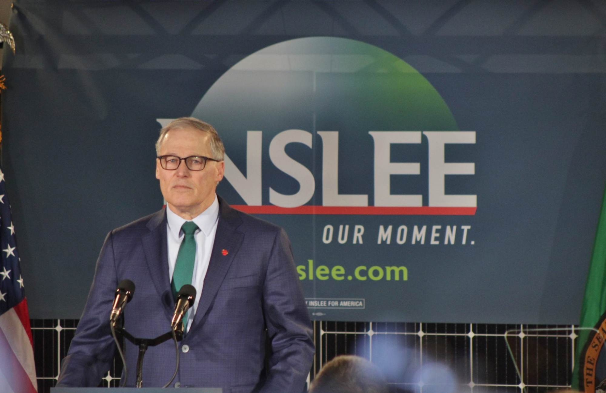 Jay Inslee Ends His Bid for the White House