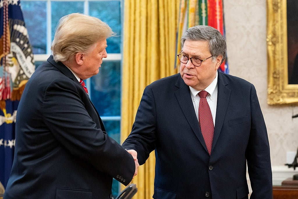 Trump's Ukraine Scandal's Got to be Bad: AG Barr Won't Even Cover For Him