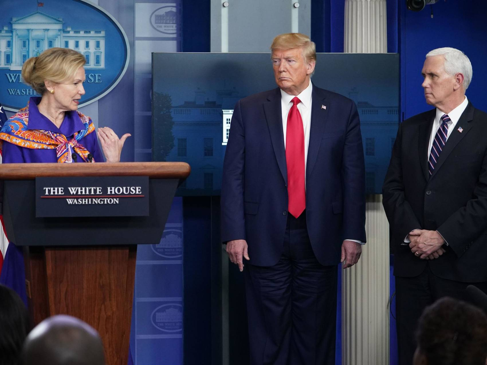 While Disinfectant Comments Cause Trump To Retreat from View, They Cast Unwanted Spotlight on Dr Birx