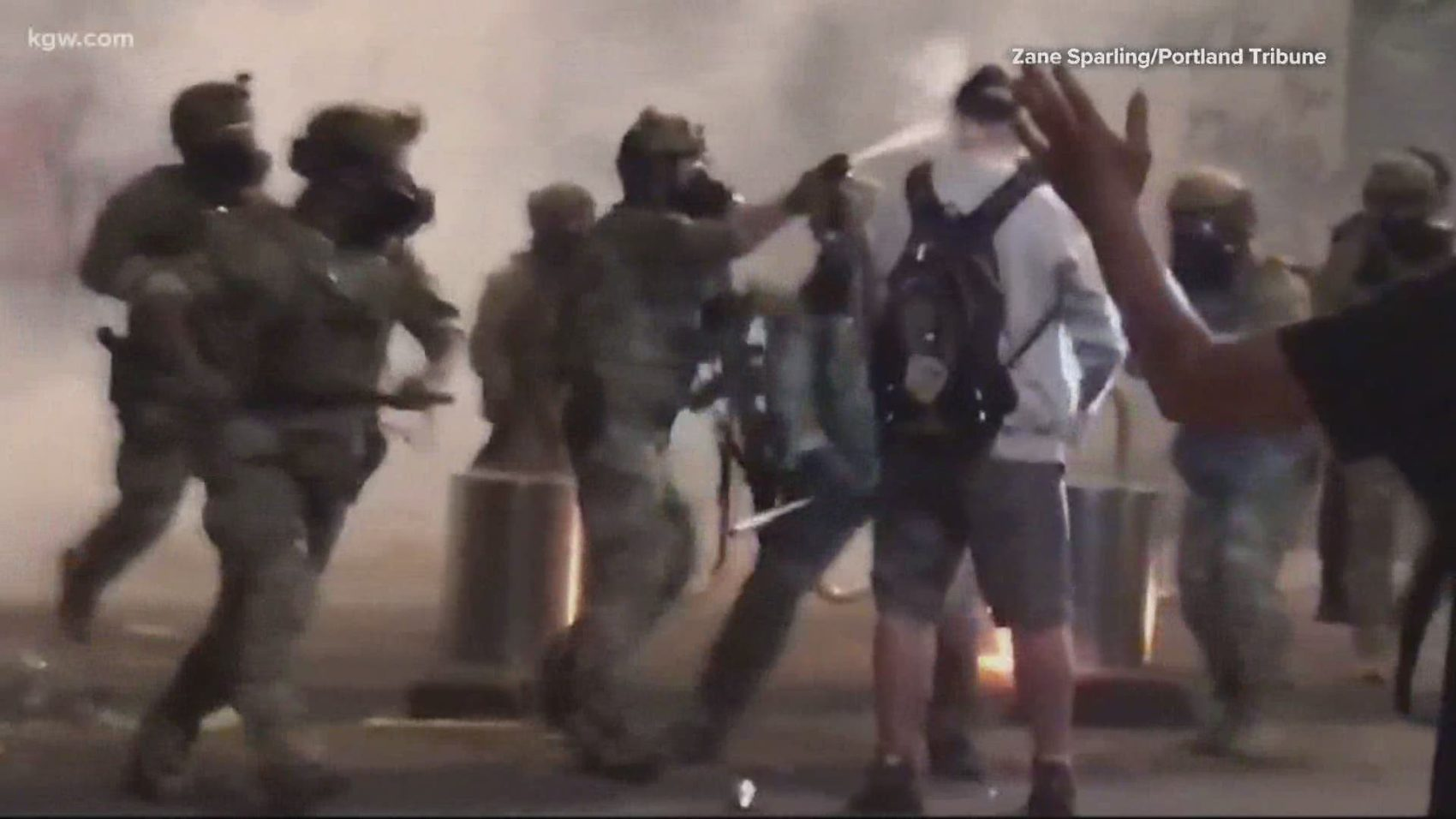 Oregon Congresswoman: Federal Police 'Inflaming' the Protesters in Portland