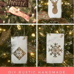 Diy Rustic Handmade Christmas Ornaments From Reclaimed Wood The Birch Cottage
