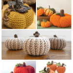 Learn To Crochet A Pumpkin With 5 Free Patterns The Birch Cottage