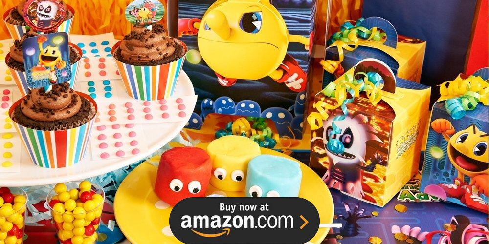 Pac Man And The Ghostly Adventures Birthday Supplies The Birthday Depot
