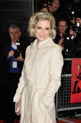 Emilia Fox wears Luisa Beccaria