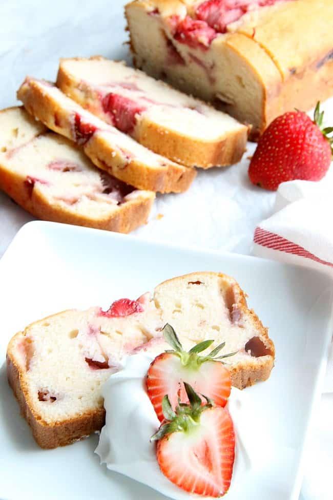 Strawberry Pound Cake Recipe