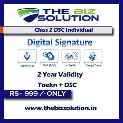 Capricorn Class 2 Digital Signature Individual sign for tax and GST