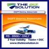 DGFT EXIM Signature dsc with 2 Years Validity import export working dsc