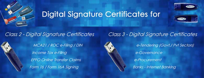 What is a Digital Signature Certificate types of dsc buy low price