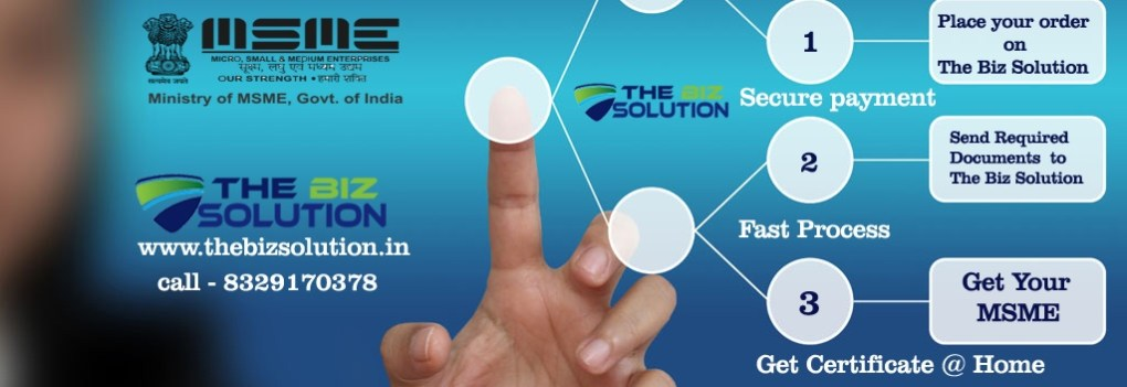 Online Apply MSME SSI Registration Certificate lowest price in India