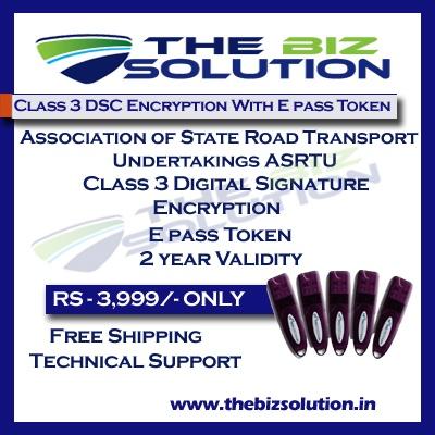 Tender dsc for Association of State Road Transport Undertakings ASRTU