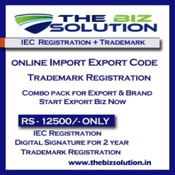 Online IE Code Registration with Trademark | Import Export Registration