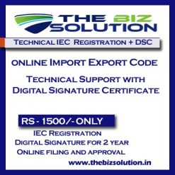 Technical Import Export Code Online Registration Support IE Code
