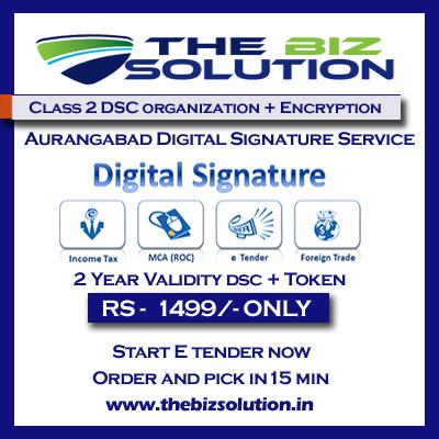 Class 2 digital signature organization with encryption aurangabad price