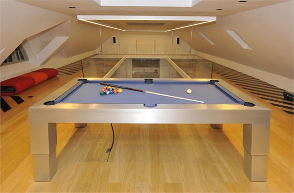 Designer Billiards Apex Solid Aluminium Pool Table - 7ft, 8ft, 9ft