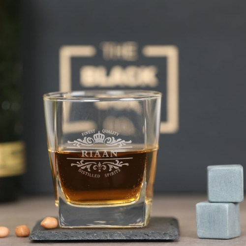 Persoanlised Whiskey Glass