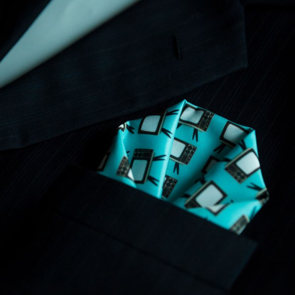 Vintage Pocket Square