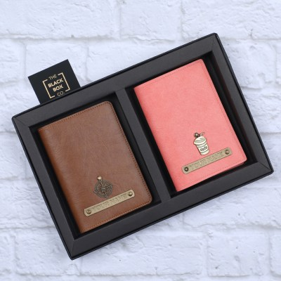 Personalised Couple Passport Covers