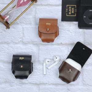Vegan Leather Airpods Case