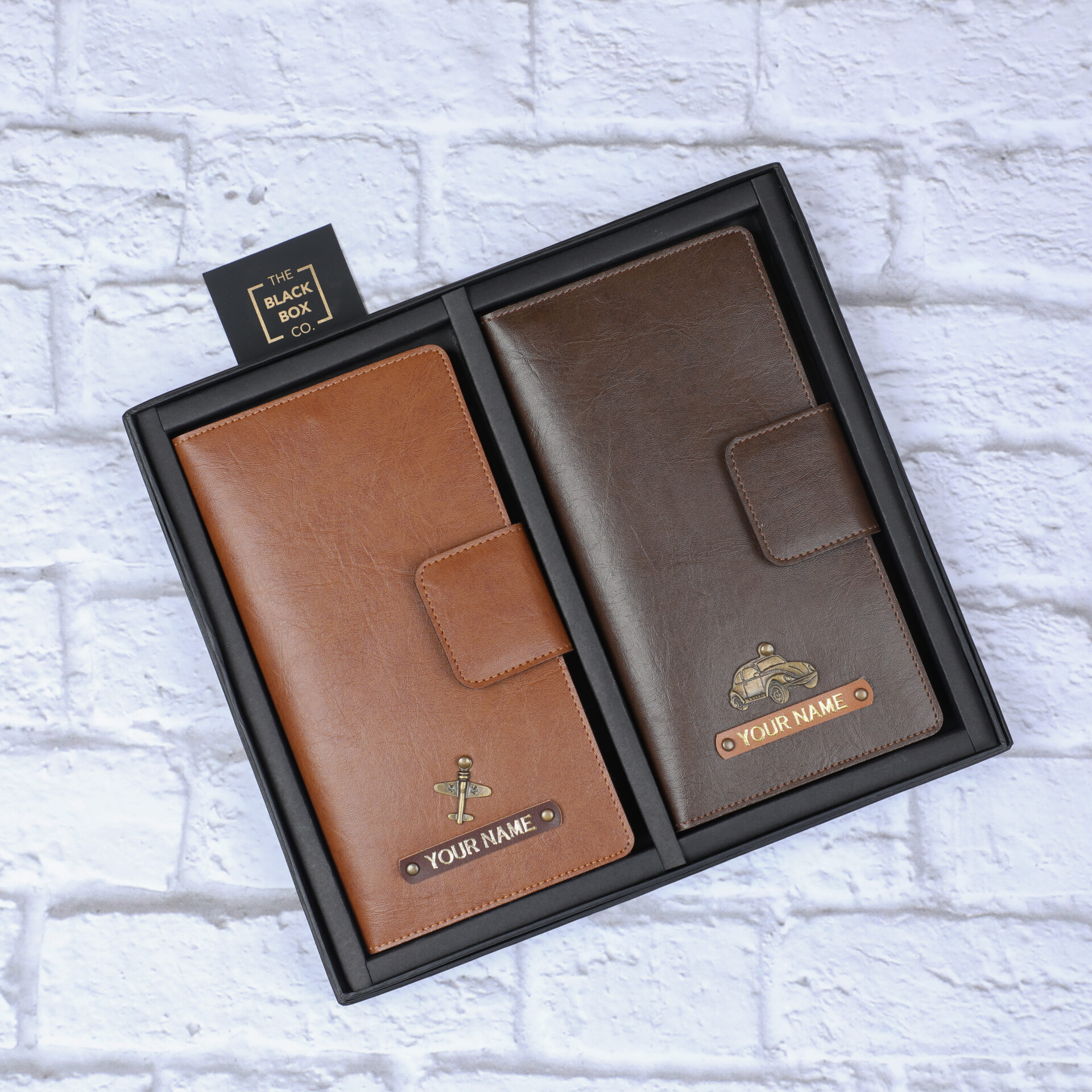 Couple travel Wallet