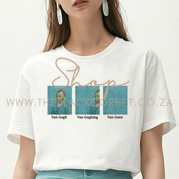 Van Goghing T-Shirt - High Quality Clothes for Sales Online in South Africa