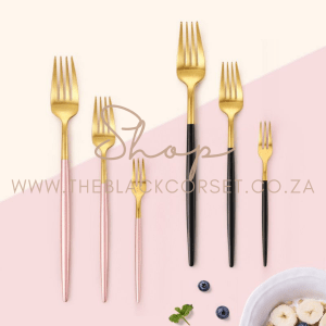 Lifestyle products, Mugs, Cups, Spoons, Water bottles, Journals, Journal Accessories, and more for Sales Online in South Africa Beautiful Dessert & Table Forks (Set of 4)