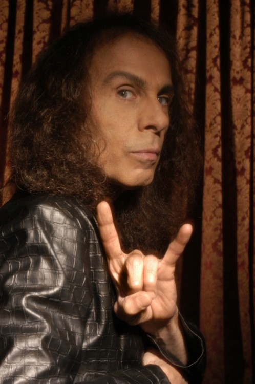 Ronnie James Dio - Popularly considered the inventor of the horns