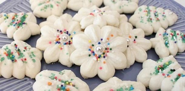 Shortbread Press Cookies