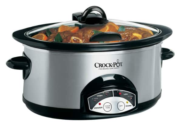 crock pot 6 quart slow cooker