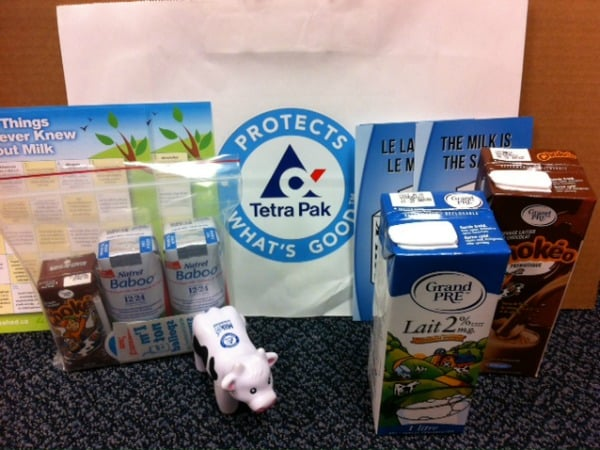 Milk Unleashed Canada Prize Pack