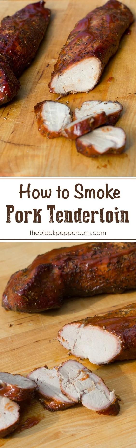 How to smoke a pork tenderloin
