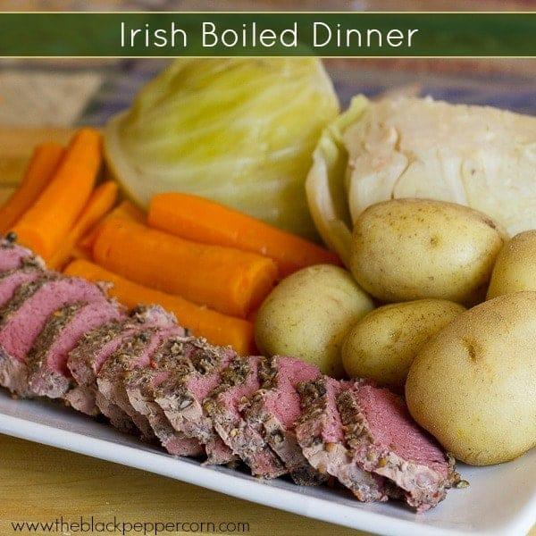 Irish Boiled Dinner text