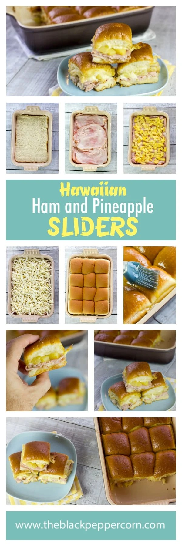 King Hawaiian Rolls Ham and Pineapple Sliders