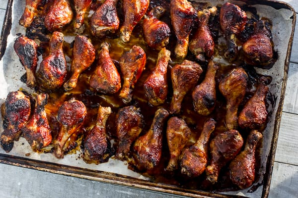 How long to bake chicken drumsticks