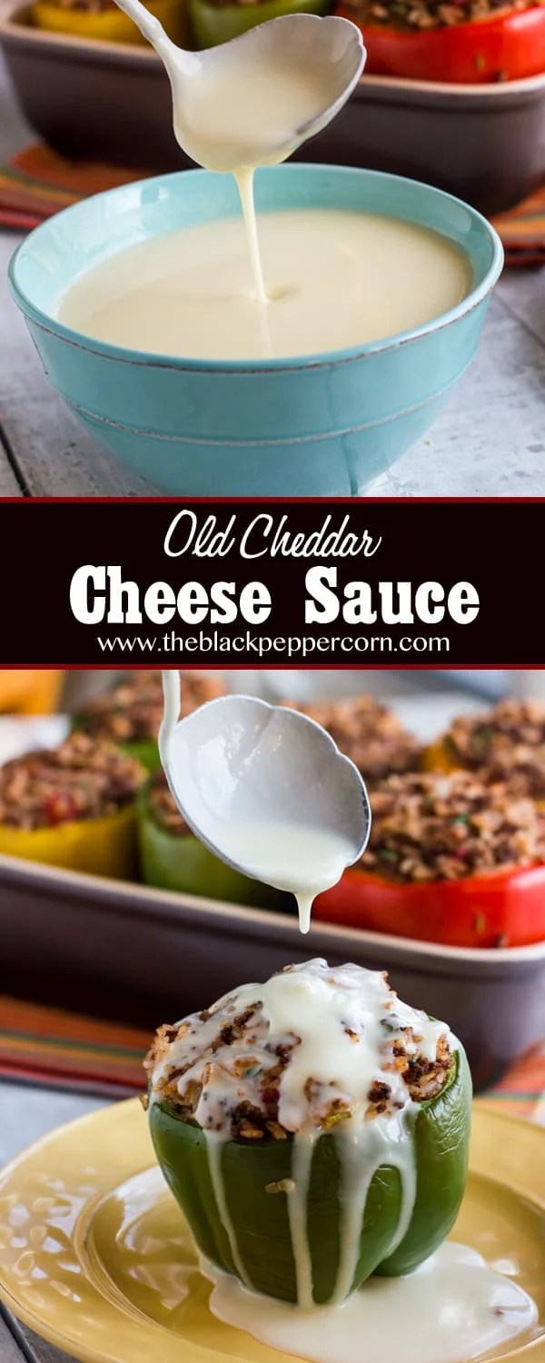 White Cheddar Cheese Sauce