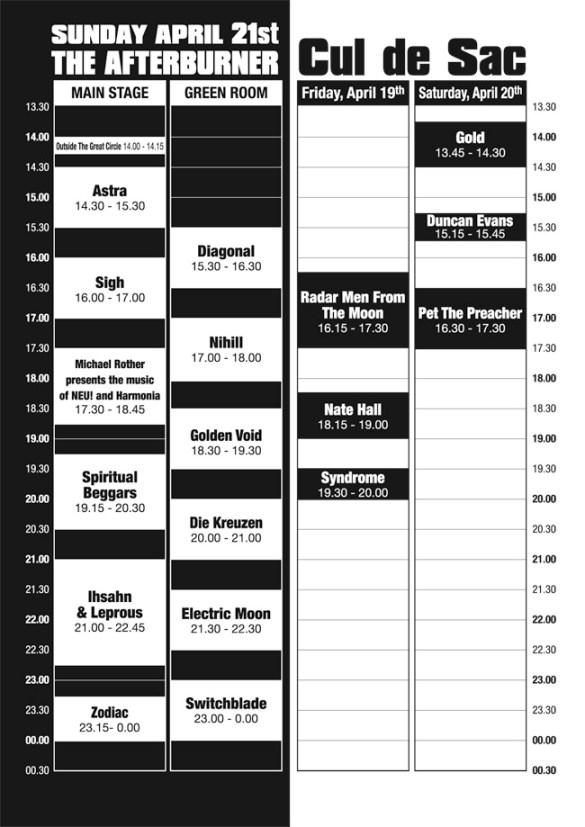 Roadburn-2013-Running-Order-Thursday-April-21st