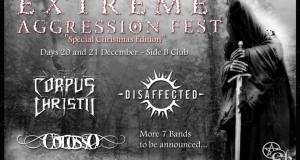 CORPUS CHRISTII to headline EXTREME AGRESSION FEST